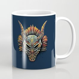 Killmonger Tribal Mask Coffee Mug