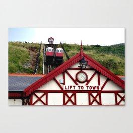 Saltburn Lift To Town Canvas Print