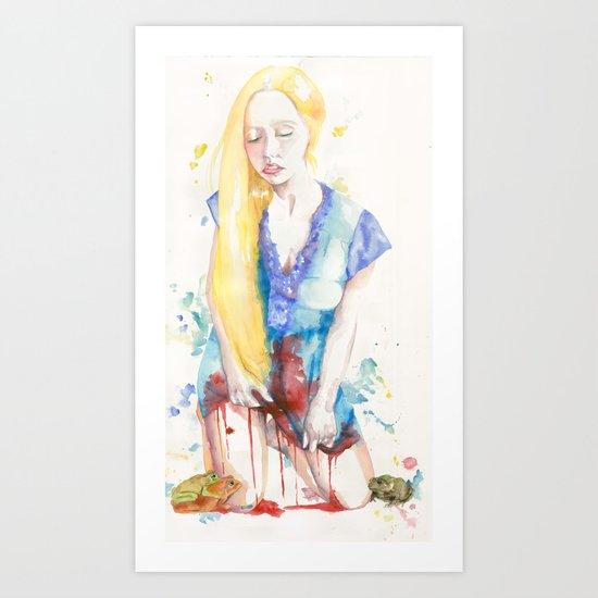 Her Virtue  Art Print