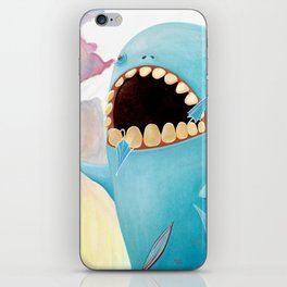 Sea Monster iPhone Skin