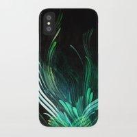 malachite iPhone & iPod Cases featuring Malachite by Lea Gray Design