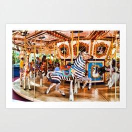 MOA Carousel Art Print