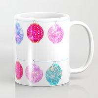 lanterns Mugs featuring Lanterns by Kara Hayley