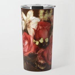 Old World Bouquet Travel Mug