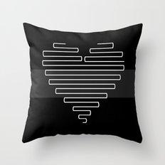Love Maze Throw Pillow