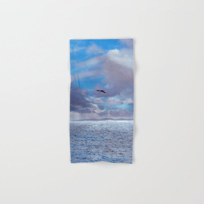 Pastel vibes 42 - El vuelo II Hand & Bath Towel