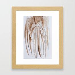 Por el Amor al Marrón Framed Art Print