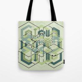 Hexagons #01 Tote Bag