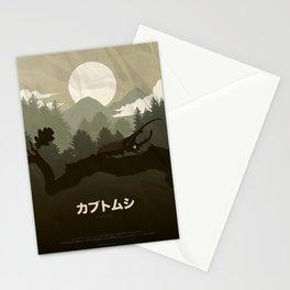 Rhinoceros Beetle Stationery Cards
