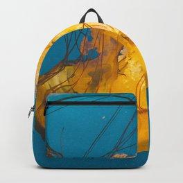 Pacific Sea Nettle Jellyfish III Backpack