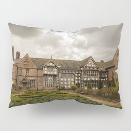 Cloudy Spring Day in an Old English Yard Pillow Sham
