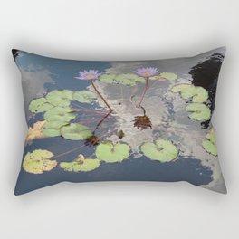 Lilypad Pond Rectangular Pillow