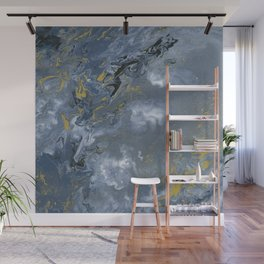 Clouded Flow Wall Mural
