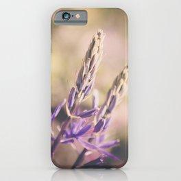 Purple Lupine iPhone Case