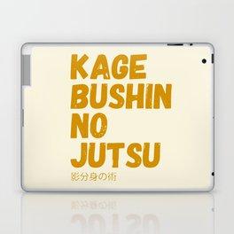 Kage bushin no jutsu Laptop & iPad Skin