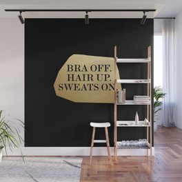Bra Off Wall Mural