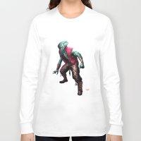 cthulhu Long Sleeve T-shirts featuring CTHULHU by Yoncho Yonchev