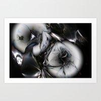 Metal memory Art Print