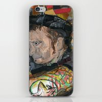 patrick iPhone & iPod Skins featuring patrick by rAr : Art by Robyn Ashley Rosner