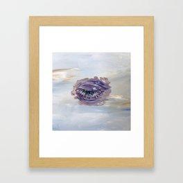 Blinking Sky Framed Art Print