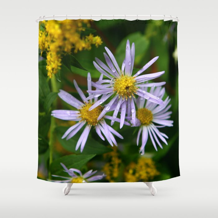 Fall Flowers in New Hampshire No. 4 Shower Curtain