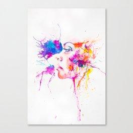 Cosmic Look Canvas Print