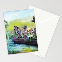 Pirate Booty Beach Stationery Cards