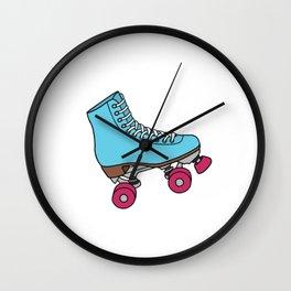 Roller Skates Wall Clock