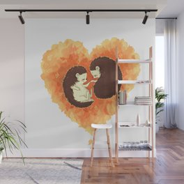 Hibernate with Me Wall Mural
