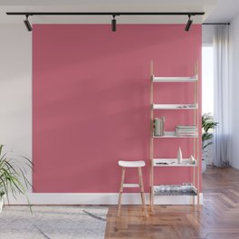 Color Trends 2017 Classic Nantucket Red Wall Mural