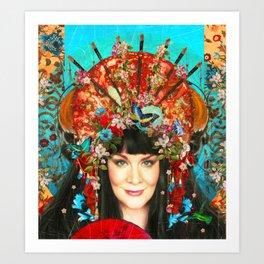 l'artiste exotique Art Print