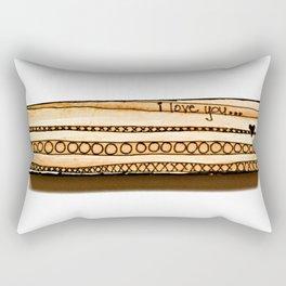 i love you... Rectangular Pillow
