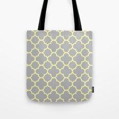 MOROCCAN {YELLOW/GRAY}  Tote Bag