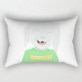 Asriel's happiness Rectangular Pillow