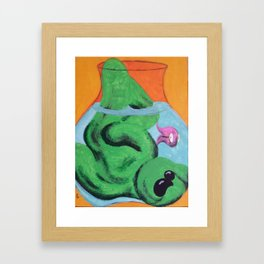 FishBowl Framed Art Print