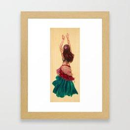 Bellydancer Framed Art Print