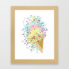 Ice_Cream Framed Art Print