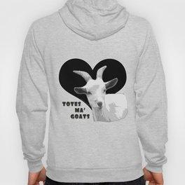 Totes Ma Goats - Black Hoody