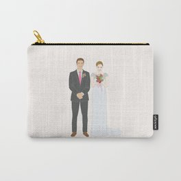 This $75 Custom Portrait Is the Most Thoughtful Wedding Gift Ever Carry-All Pouch
