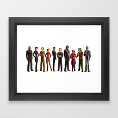 Star Trek: Deep Space Nine Framed Art Print