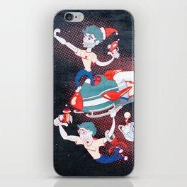 Rocket Christmas iPhone Skin