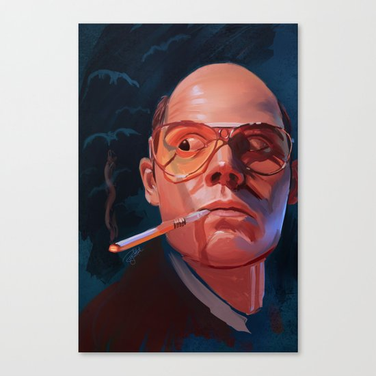Fear & Loathing Canvas Print
