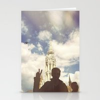 budapest Stationery Cards featuring Budapest by BriAnneWills