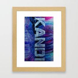 ''Kandi''  Framed Art Print