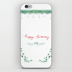 Happy Birtday_04 iPhone Skin