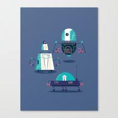 :::Mini Robot-Nanoi::: Canvas Print