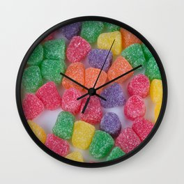 Gumdrops Wall Clock