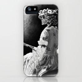 Lady Skeleton iPhone Case