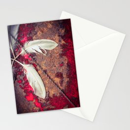 Paint it in rust 001 Stationery Cards