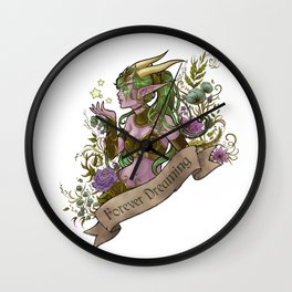 Forever Dreaming Wall Clock